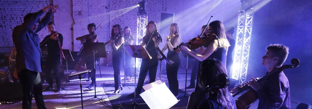 © Orkiestra Smyczkowa UMFC, Festiwal Fama, fot. Piotr Morytko