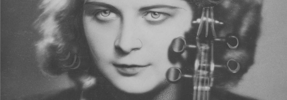 Grażyna Bacewicz — 1935 © z zasobów Narodowego Archiwum Cyfrowego