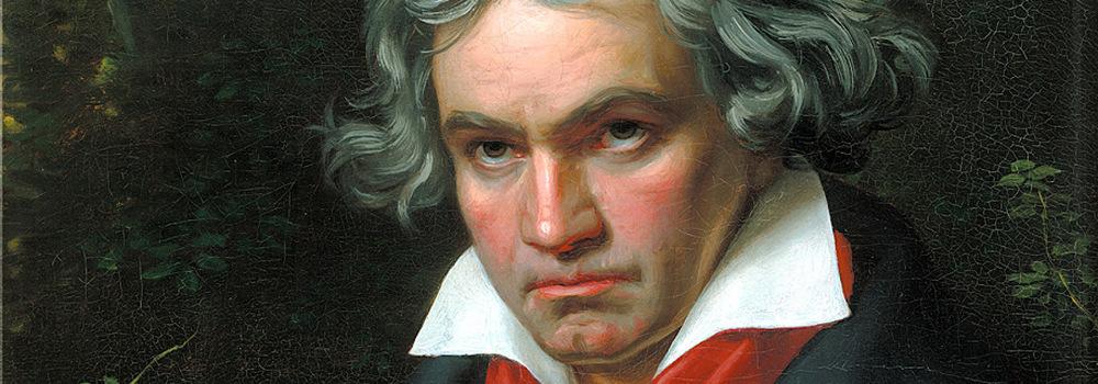 Ludwig van Beethoven — Joseph Carl Stieler, 1819–20, Beethoven-Haus, wikipedia.org (CC BY-SA)